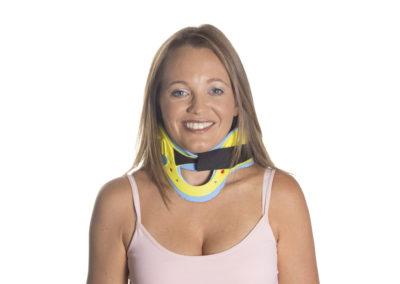 Clairelock Adjustable Stiff Neck Collar