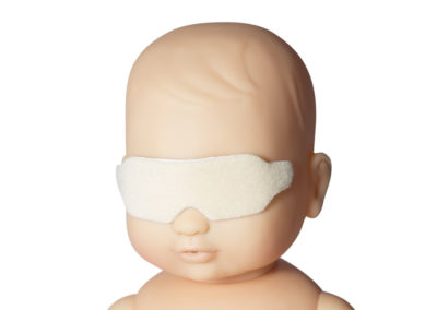 Phototherapy Eye Protector with Adhesive Tape