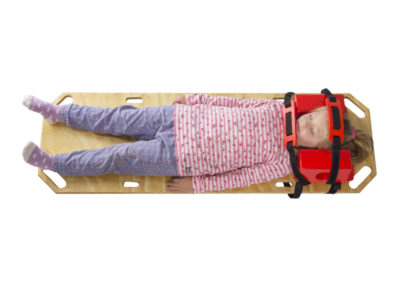 Infant Trauma Board and Headblock